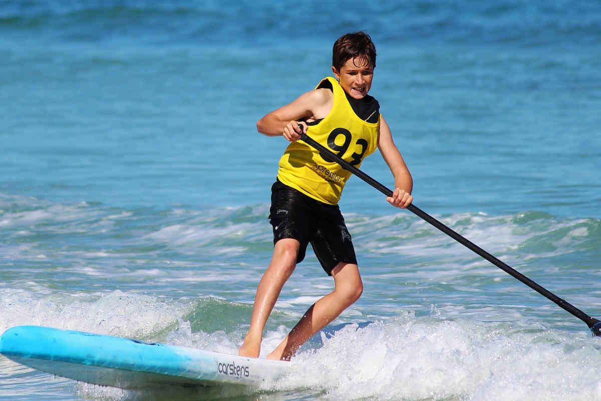 Stand Up Paddling Kind